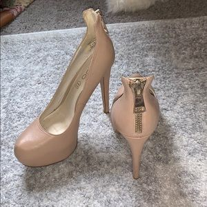 Beautiful Aldo tan heels w/ free outsole grip